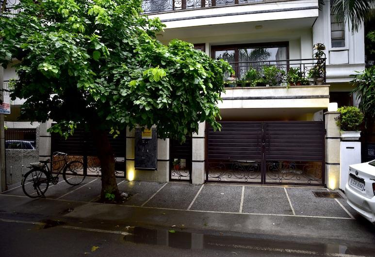 啄木鳥綠色民宿, 新德里, 酒店入口