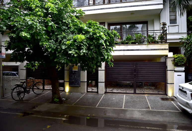 Woodpecker Bed and Breakfast Green, Yeni Delhi, Otel Girişi