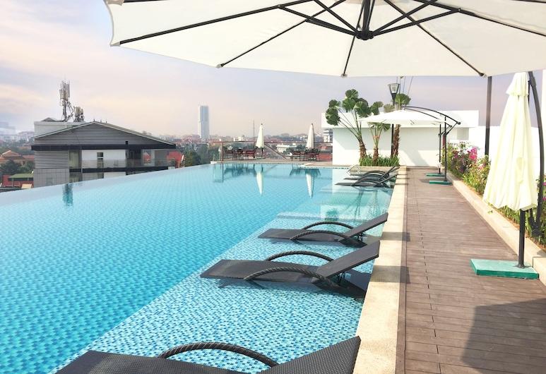 Mandala Hotel and Spa, Bac Ninh, Alberca infinita