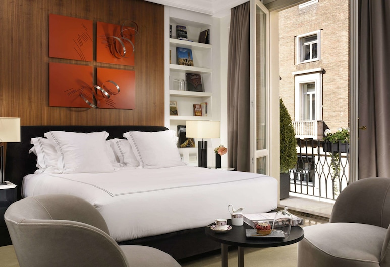The First Roma Dolce, Rome, Suite, Balcony, Guest Room