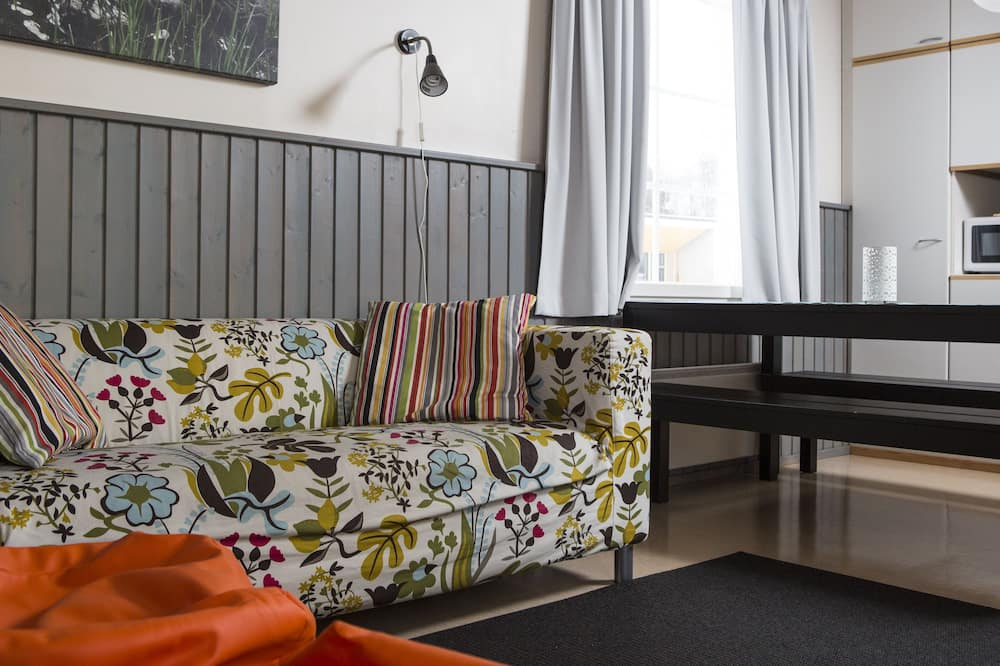 Cabaña básica, 1 habitación - Sala de estar
