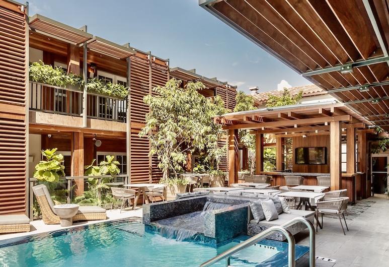 Lennox Hotel Miami Beach, Miami Beach, Værelse - 1 kingsize-seng (Pool), Udsigt fra værelset