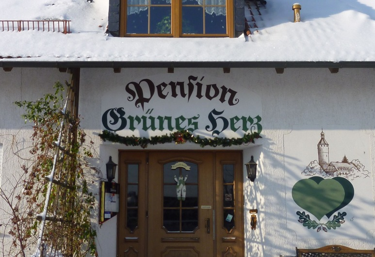 Pension Grünes Herz, Tonndorf, Hotel Entrance