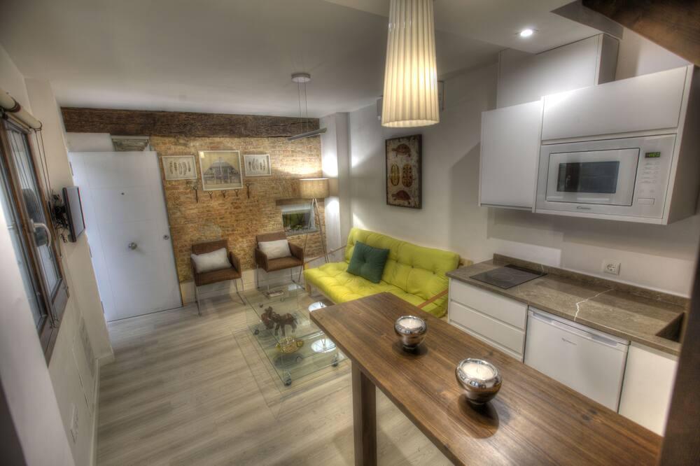 Dúplex, 1 habitación - Sala de estar