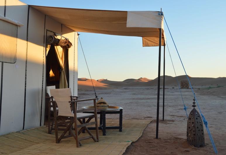 Erg Chegaga Luxury Lodge, М'Хамид-Эль-Гизлан, Палатка (Family), Терраса/ патио