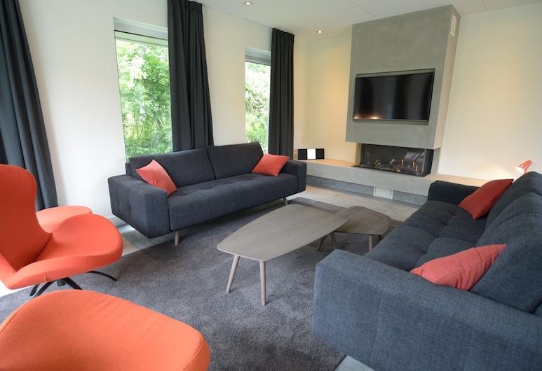 Luxurious Villa De Brummel in the nature area De Denne, cheap Wednesday price, Den Burg, Living Room