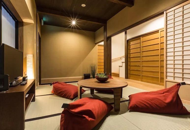 No.10 Kyoto, Kyoto, Room: YUKI, Living Area