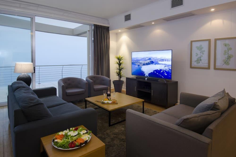 Penthouse clásico, Varias camas, para no fumadores - Sala de estar