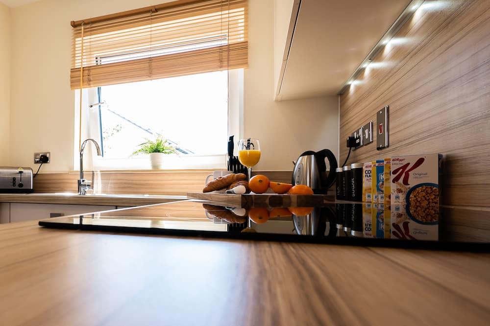 Dzīvokļnumurs, viena guļamistaba, virtuve - Privāta virtuve