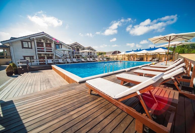 Hotel Del Mare - All inclusive, Anapa , Päevitusala