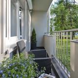 Ексклюзивні апартаменти, 1 ліжко «кінг-сайз» та розкладний диван - Балкон
