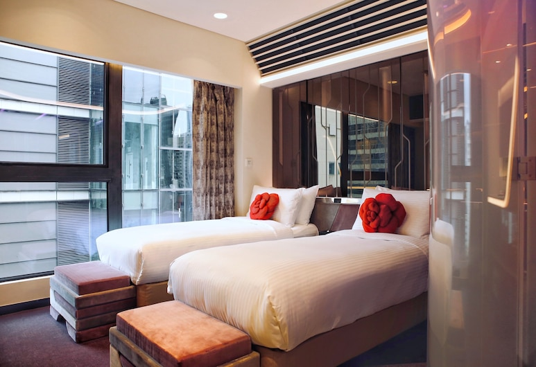Butterfly on LKF Boutique Hotel Central, Hongkong, Rom – superior, Gjesterom