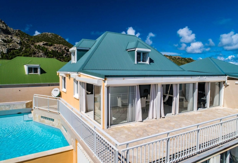 Villa With 2 Bedrooms in Saint-barthélemy, With Wonderful sea View, Private Pool, Terrace - 500 m From the Beach, St. Barthelemy