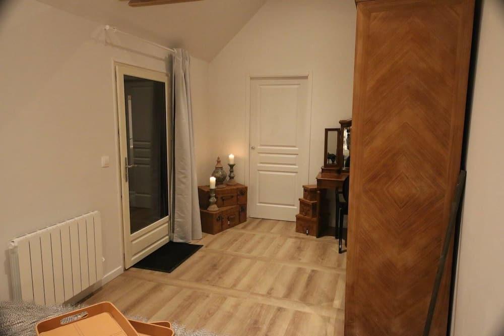 コンフォート 4 人部屋 2 ベッドルーム エンスイート 別館 - リビング エリア