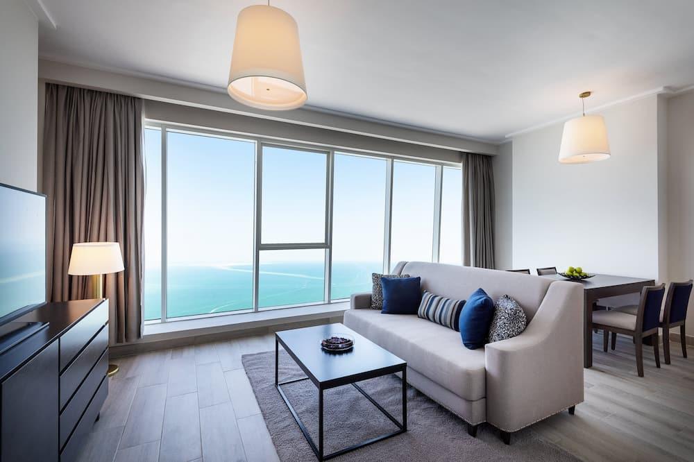 Sea view One Bedroom Apartment (Ramadan Offer - Free Suhoor & Iftar)  - Вибране зображення