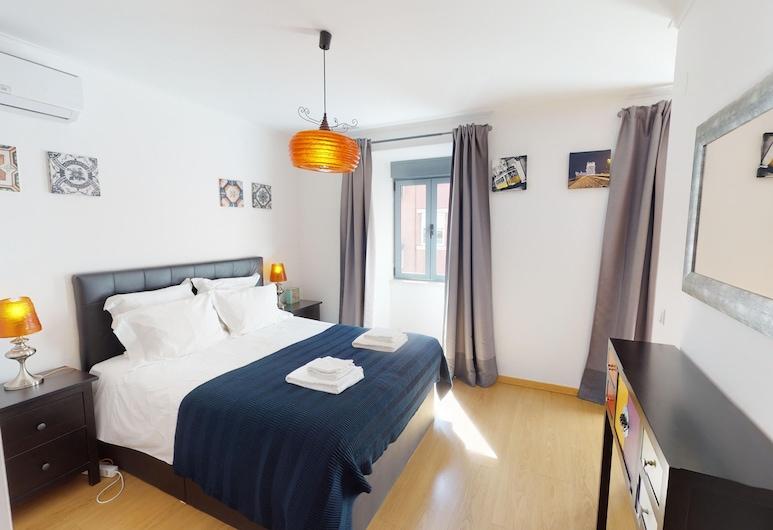 35 Penha de Franca Apartment, Lisbona, Appartamento, 2 camere da letto, vista città, Camera