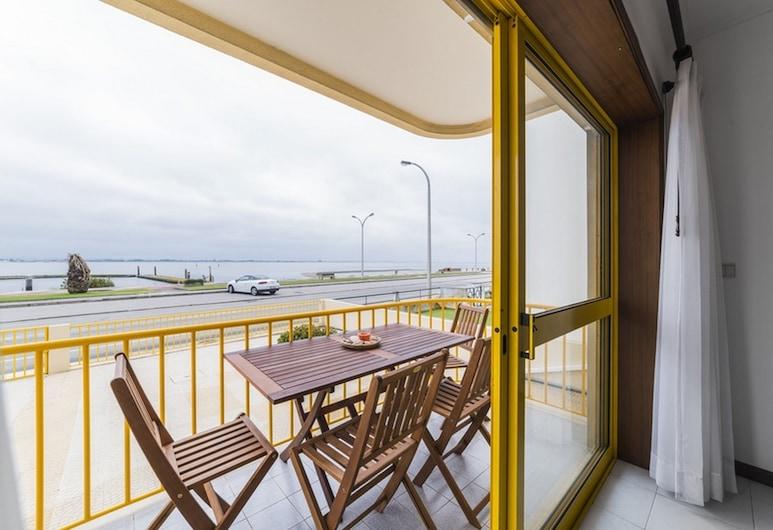 38 Rias View Apartment, Torreira, Departamento, 2 habitaciones, vista al río, Terraza o patio