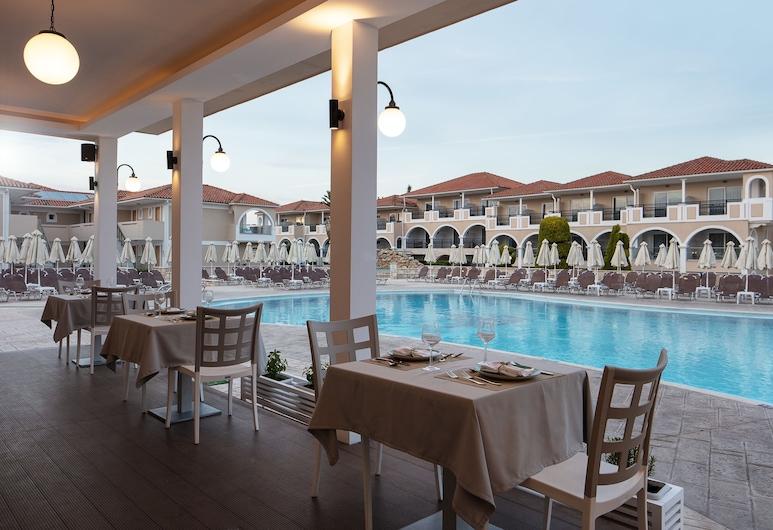 Marelen Hotel, Zante, Ristorazione all'aperto