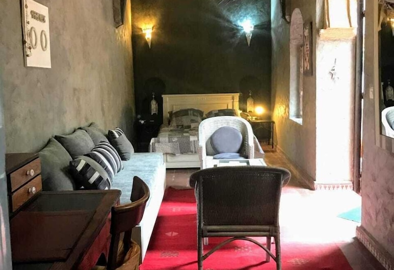 Riad Aïcha, Sale, Standard Tek Büyük Yataklı Oda, Sigara İçilmez, Oda