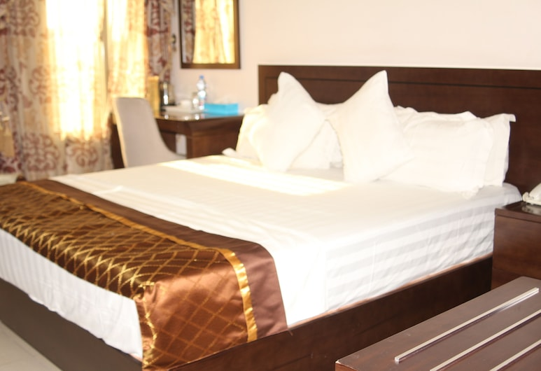 Hotel Fortune, Kinshasa, Standard Double Room, Guest Room