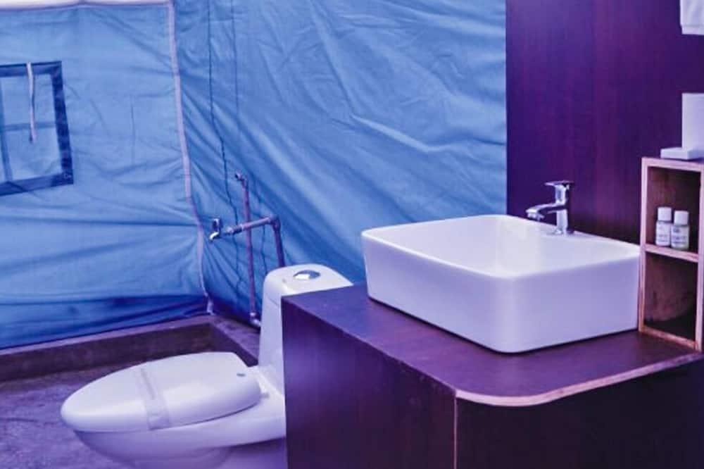 Deluxe-Zelt, 1 Queen-Bett, Nichtraucher - Badezimmer