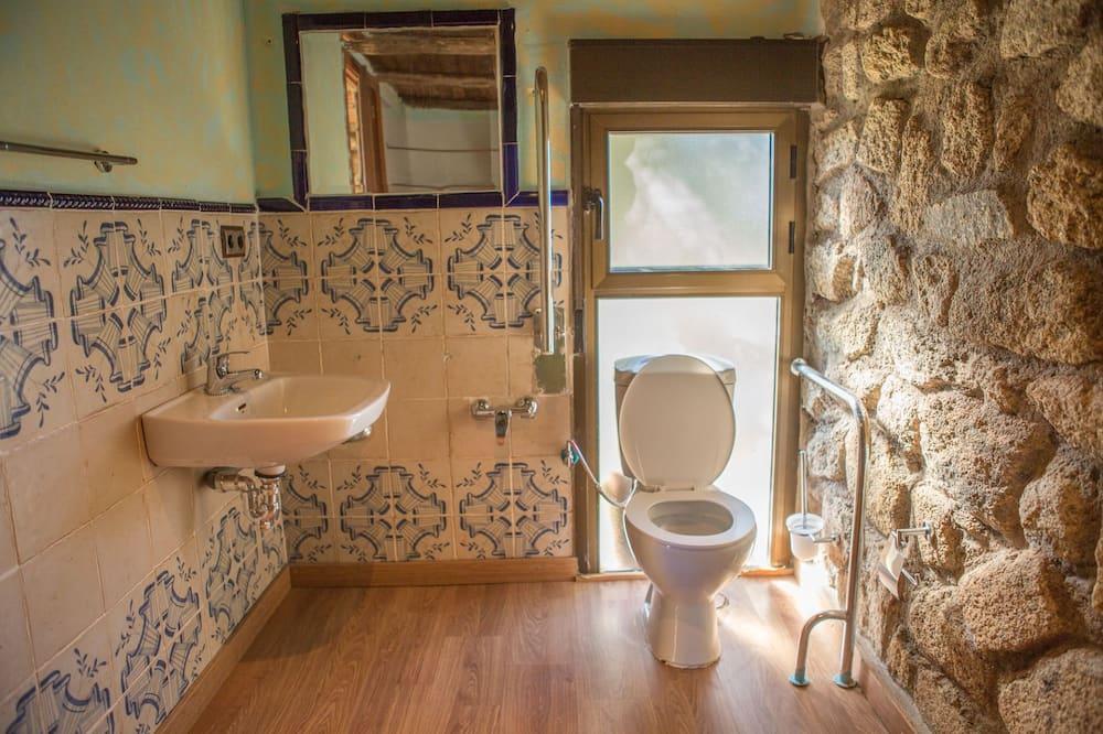 Dobbeltværelse - 1 dobbeltseng - ikke-ryger - Badeværelse
