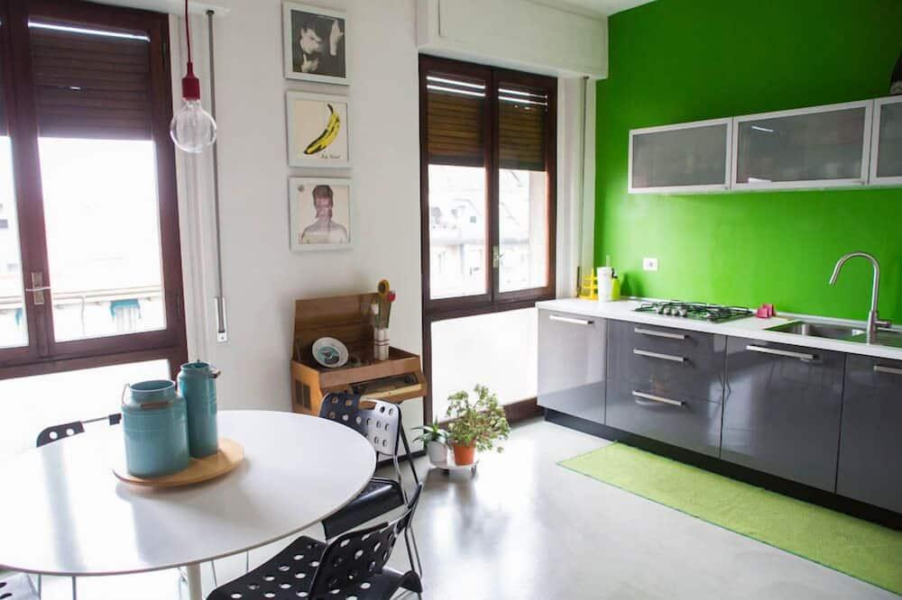公寓, 1 間臥室 - 客房餐飲服務