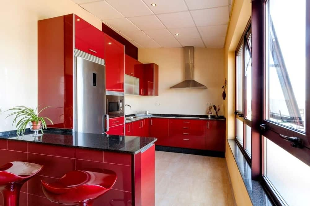 Basic Κρεβάτι Ξενώνα, Πρόσβαση για Άτομα με Αναπηρία (1 Bed in a 12-Bed Dormitory Room) - Κοινόχρηστη κουζίνα