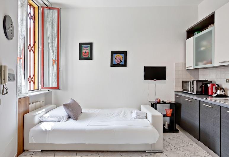 체니시오 54, 밀라노, 아파트, 침실 1개, 거실 공간