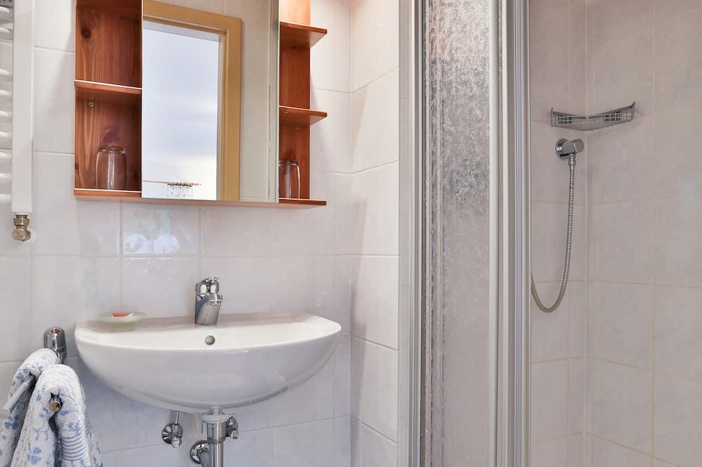 Comfort Double Room (Das Blaue) - Bathroom