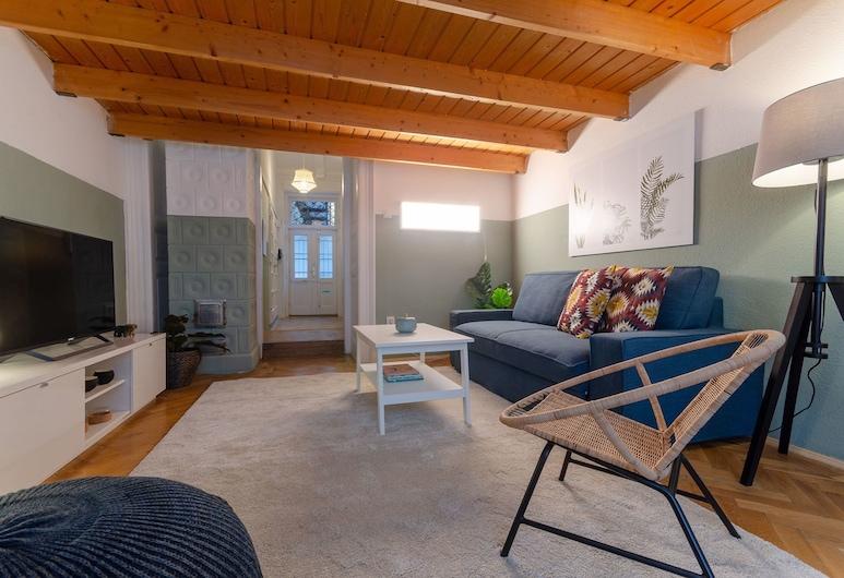 Coriander Apartment, Βουδαπέστη, Στούντιο, 1 Queen Κρεβάτι με Καναπέ-Κρεβάτι, Καθιστικό