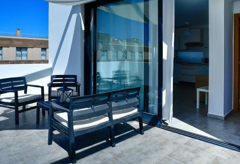 Behosty - Cotillomar Atico 13, La Oliva, Leilighet, 1 soverom, Terrasse/veranda
