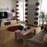 Appartement, 1 slaapkamer, uitzicht op bergen (Die Neue Karwendel) - Woonruimte