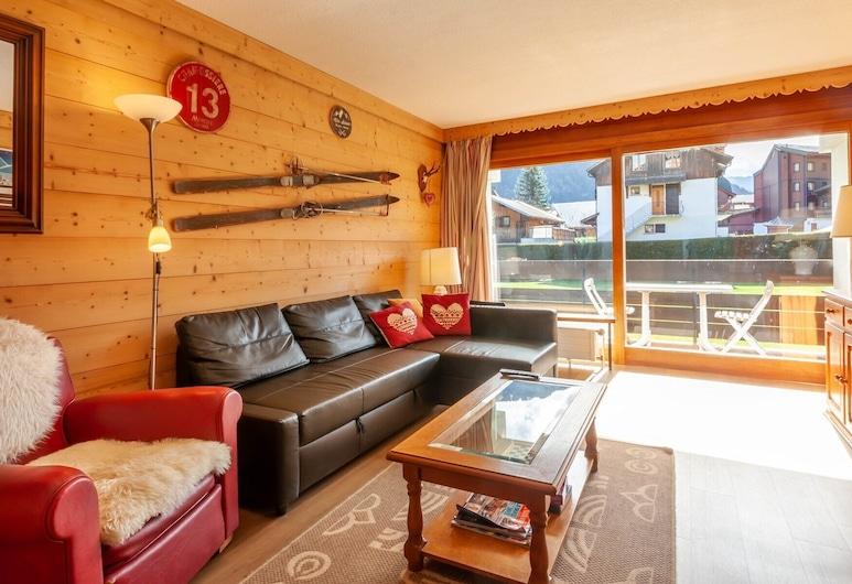Chevruls A4, Morzine, Apartmán (2 Bedrooms), Obývacie priestory