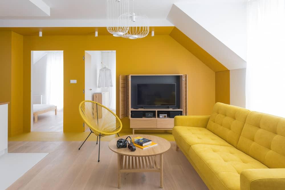 Apartment (Mustard) - Living Area