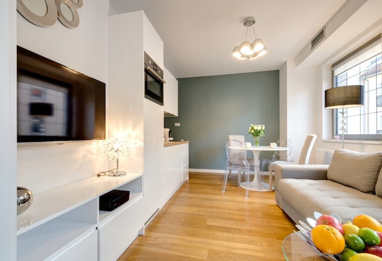 Happy Stay Old Town Tartaczna St.210 B, Gdansk, Comfort Apartment, Living Area