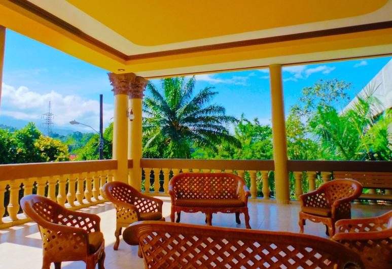 Hotel Las Hamacas, La Ceiba, Terraço/Pátio Interior