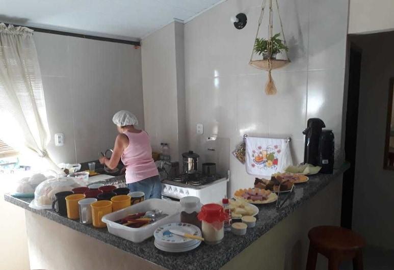 Hostel Dmais, Morro de Sao Paulo, Área para desayunar