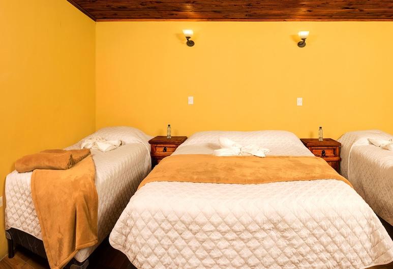Hotel Residencia del Puente, Quetzaltenango, Tremannsrom – basic, Gjesterom