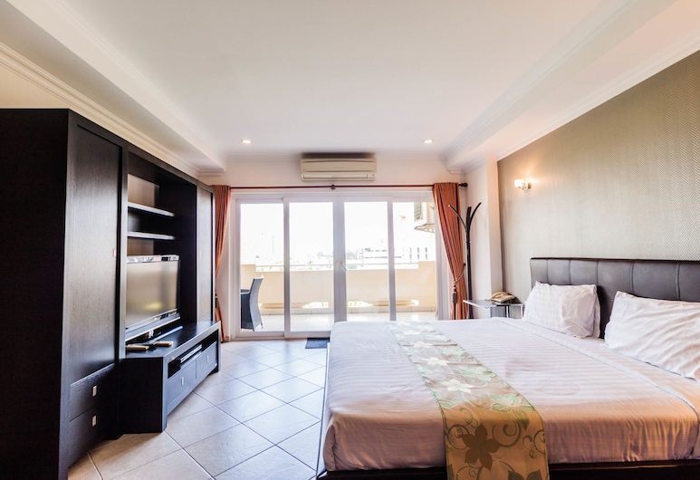View Talay Residence 6 by PSR, Pattaya, One Bedroom Apartment, Phòng