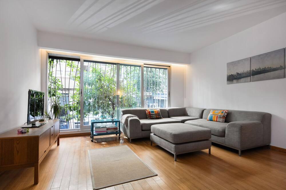 Apartment, 1 Bedroom (No:6) - Ruang Tamu