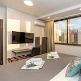 Izba typu Deluxe s dvojlôžkom alebo oddelenými lôžkami, výhľad na mesto - Hosťovská izba