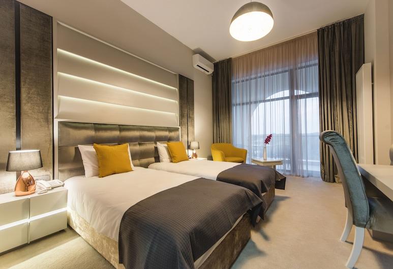هوتل إدما, الإسكندرية, غرفة بريميم مزدوجة أو بسريرين منفصلين, غرفة نزلاء