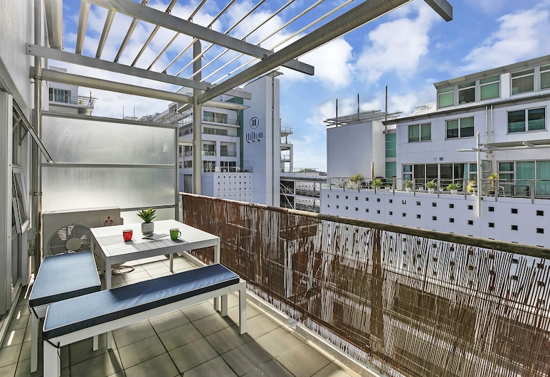 Deluxe Waterfront & City Apartment, Auckland, Terrasse/patio
