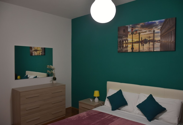 Venice Popular Apartment, Mestre, Pokój dwuosobowy, Łóżko queen, wspólna łazienka, Pokój