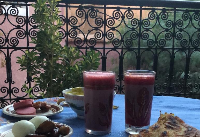 Oliban Kasbah , Tinghir, Χώρος πρωινού
