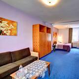 חדר פרימיום זוגי, מיטת קווין, ללא עישון - חדר אורחים