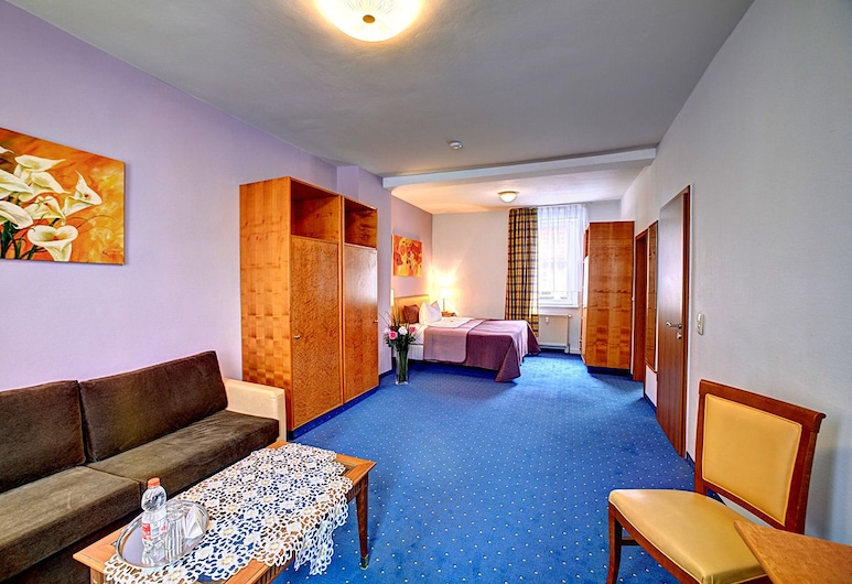 Hotel Maximilian, Zeitz, Premium dvokrevetna soba, 1 queen size krevet, za nepušače, Soba za goste