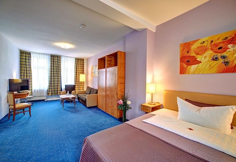 Hotel Maximilian, Zeitz, Doppia Premium, 1 letto queen, non fumatori, Camera