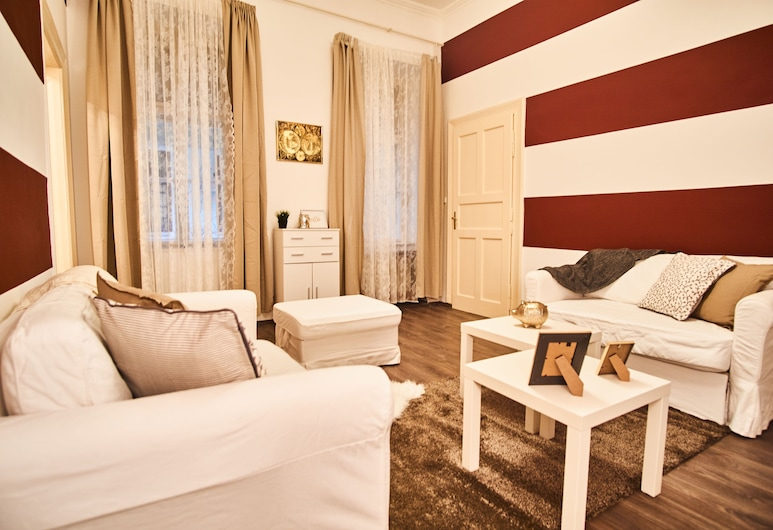 Baron Apartment Budapest, Βουδαπέστη, Design Διαμέρισμα, 1 Queen Κρεβάτι, Μη Καπνιστών, Περιοχή καθιστικού